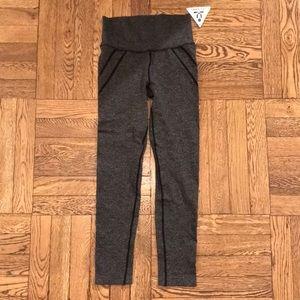 NEW WITH TAGS dark grey seamless leggings